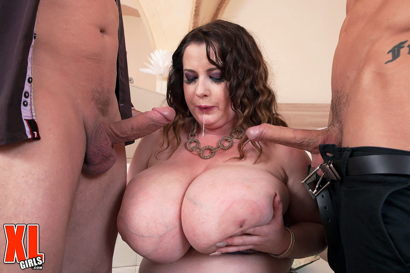 Anna Beck – Busty BBW Tag Teamin Threesome sex   – XLgirls – FullHD 1080p