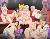 STUDIO OPPAI  - NARUTO PORN ARTWORK COLLECTION