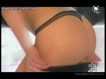 Camila Velasco cute ass in black thong