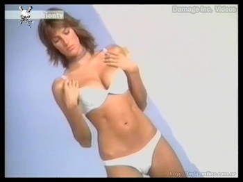 Dolores Trull hot body in leca lingerie
