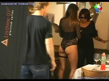 Karina Jelinek cute booty in lace panties