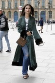 Emily Ratajkowski - Candids in Jeans out in Paris 15