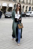 Emily Ratajkowski - Candids in Jeans out in Paris 10