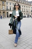 Emily Ratajkowski - Candids in Jeans out in Paris 2