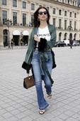 Emily Ratajkowski - Candids in Jeans out in Paris 4