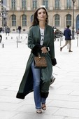 Emily Ratajkowski - Candids in Jeans out in Paris 11