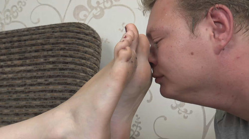 Cathy - lick and smell my worn flats! Full HD