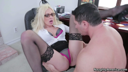Victoria White - horny for her boss, HD, 720p