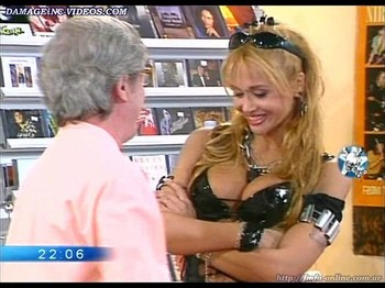 Paula Martinez hot cleavage showgirl