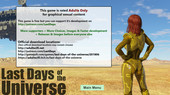 Updated PC porn game Last Days of the Universe - Episode 1 ver 2018.08 from AdultSciFi