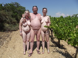 Nudists french girls family