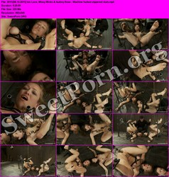 DeviceBondage.com [06.15.2011] Isis Love, Missy Minks & Audrey Rose - Machine fucked zippered sluts Thumbnail