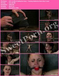TheTrainingOfO.com [07.13.2012] Katharine Cane - Training Katherine Kane Day 2 Thumbnail