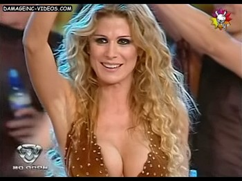 Flavia Palmiero big tits cleavage