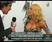 Dallys Ferreira nipple oops