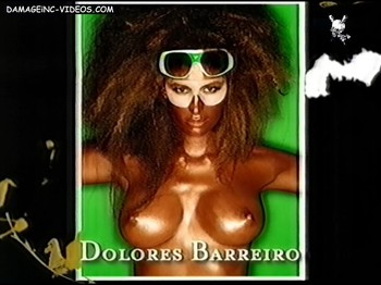 Dolores Barreiro painted topless