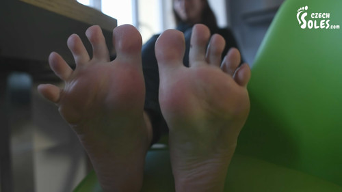 Big, tired and smelly feet - POV
