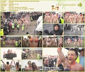 Roskilde Festival Naked Run Public Nudity 2016  - A film about nudists HD 720p