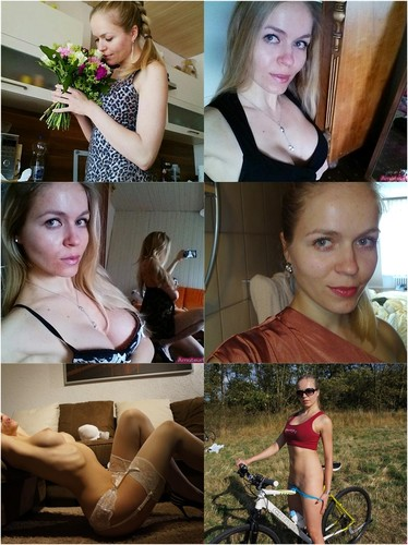 Pretty Blonde Johanna With A Dream Body Makes Nude Pictures + 2 Videos