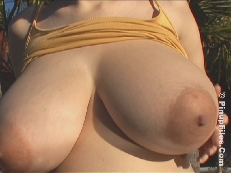 Lorna Morgan – Golden Cami 1 Giant Jugs