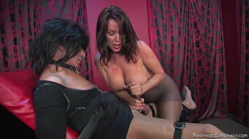 Pantyhose Supremacy - Fuck Toy for Rachael Steele - 4 of 6 Mistress Rachel Steele, Big Breasts, Nipple Play, Sex Slave 23.05.2017