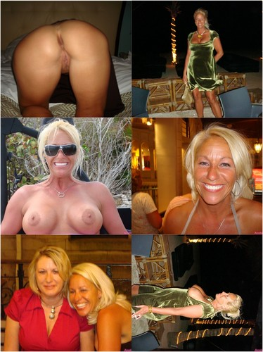 Horny Tanned Mrs. Diana And Her Nude Photos