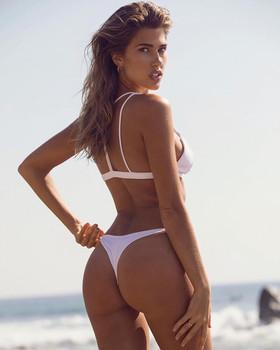 Kara Del Toro ass thong bikini