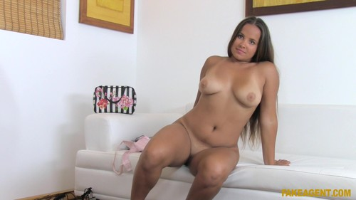 Fake Agent: Olivia Nice - Double Cum Shot On Big Tits (1080p)