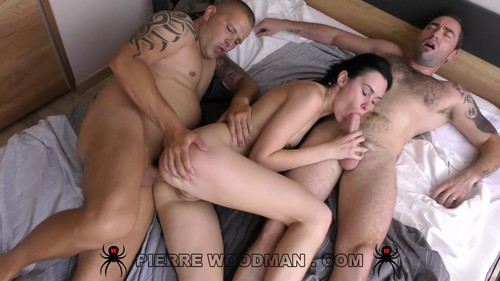 WoodmanCastingX - Nikki Stills - Hard - My first DP with 3 men