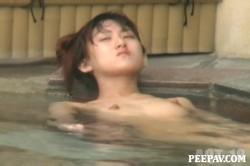 Aquaな露天風呂Vol.862