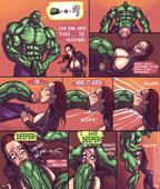 Updated Mnogobatko - Hulk vs Black Widow comic - Ongoing