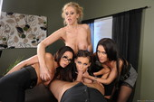 Jenna Presley & Jessica Jaymes & Julia Ann & Kirsten Price - Office 4-Play IV (h