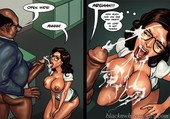 Updated interracial comic Blacknwhitecomics - Detention 2 - 84 pages