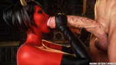 New 2017 comic from Intrigue3D - Succubus Lust