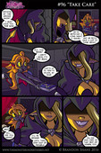 Updated fantasy western comic by Brandon Shane - The Monster Under the Bed