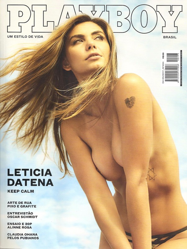 baixar Revista Playboy   Leticia Datena   Abril/Maio 2017 + Making Of download