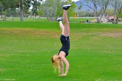 Khloe - Acrobatics In Public