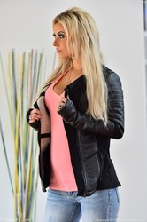Alana - Sexy In Pink Black