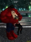 Ms Marvel vs Red Hulk The Return of Red Hulk from Argento
