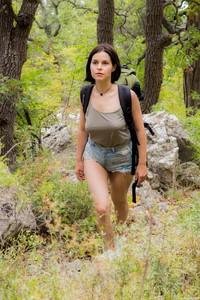 Ole Nina - Teen with incredible big natural bush  j6rg13jcgc.jpg