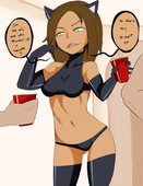 Kim Possible sex comic from Inuyuru - Halloween Party